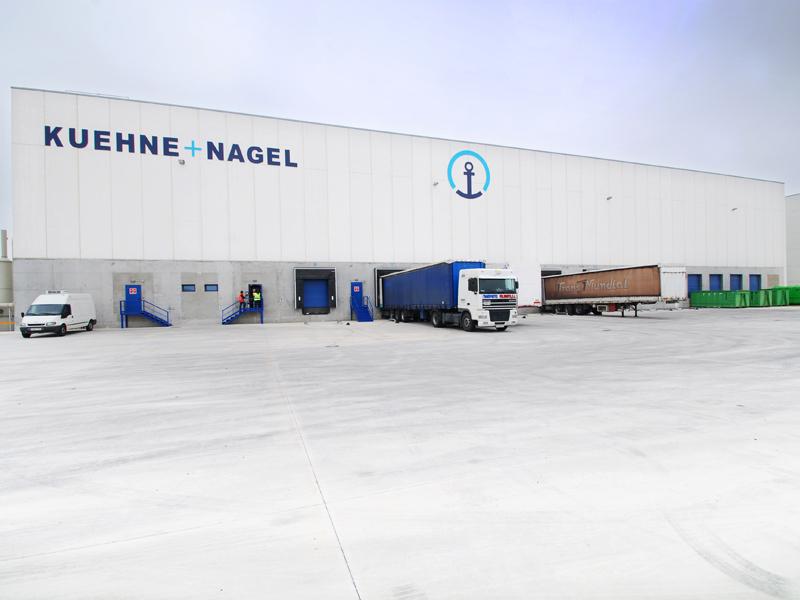 Plateforme logistique KUEHNE + NAGEL 15.000 m2