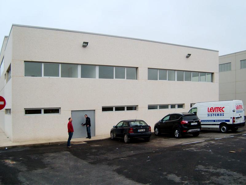 Plateforme logistique de Almacenamiento de Residuos GRHUSA 2.500 m2